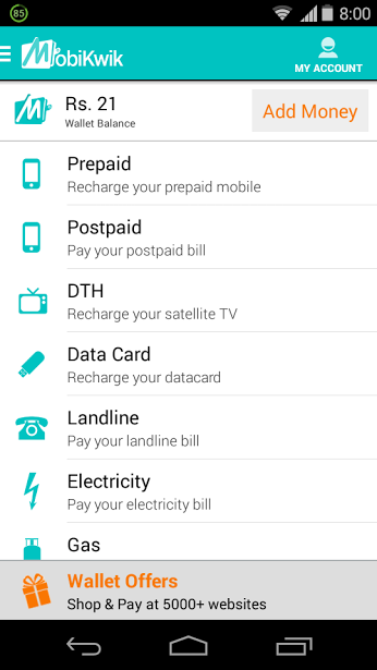 Mobikwik Android App