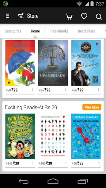 deals on eBooks